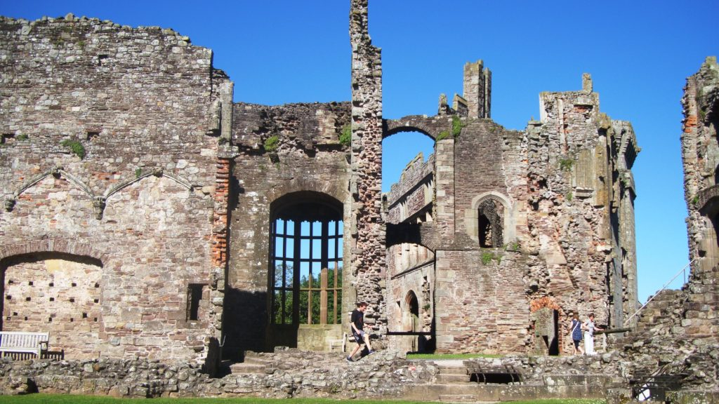 Out and About round Porth-y-Parc - Raglan Castle